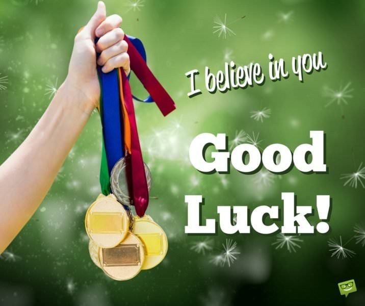 I believe in you. Good Luck!