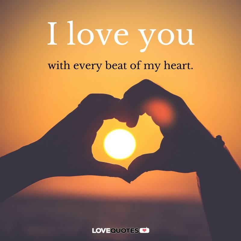 Love Quotes For Her From The Heart | Forever In My Heart I Love You Messages And Poems For Her