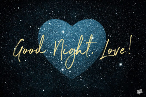 Good night image for your love.