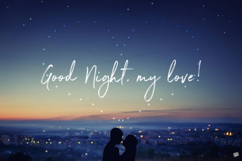 Good night image for the one you love.