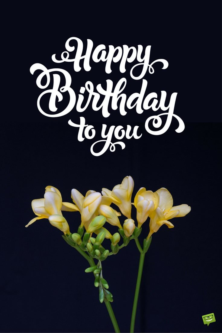 Floral wishes ecards free birthday images with flowers happy birthday to you izmirmasajfo Choice Image