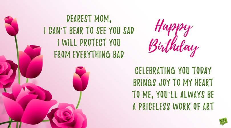 Birthday Poems For Mom And Dad