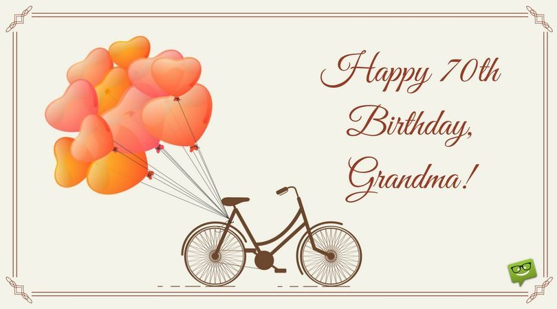 Happy Birthday, Grandma.