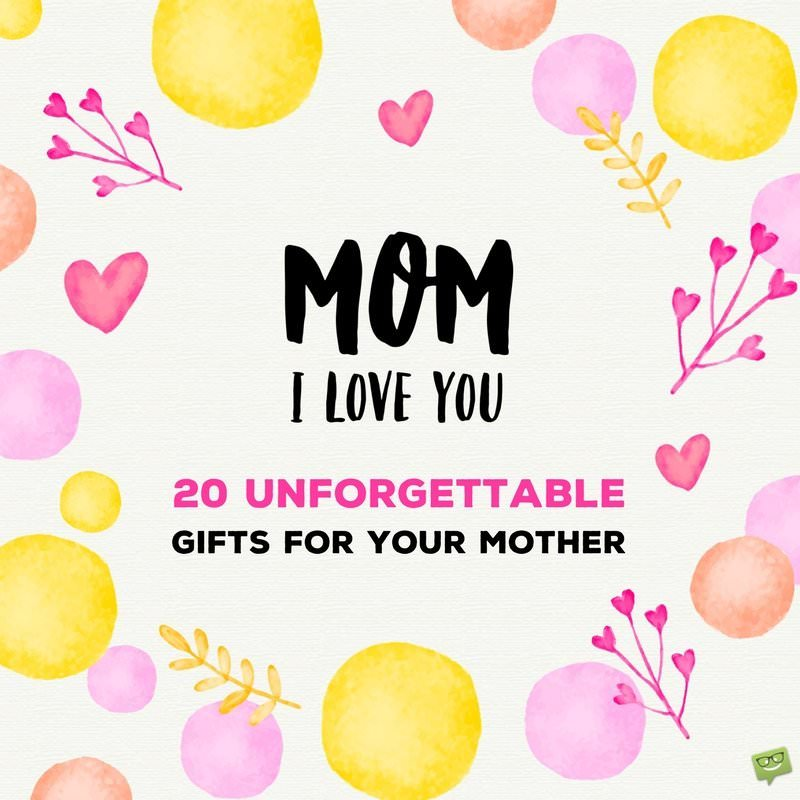 The Perfect Birthday Gift List For Mom