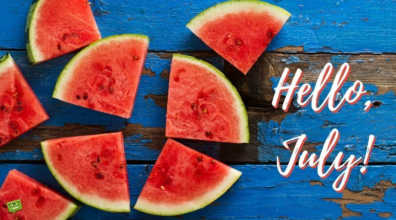 Hello, July! | In the Heart of the Summer