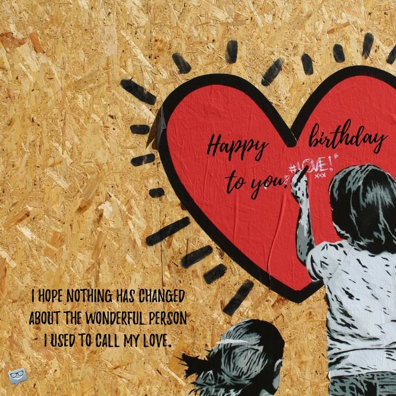 Birthday Wishes And Poems For My Ex Girlfriend