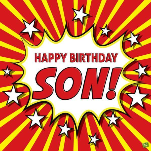 Happy Birthday, Son!