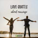 Love Quotes about Marriage.