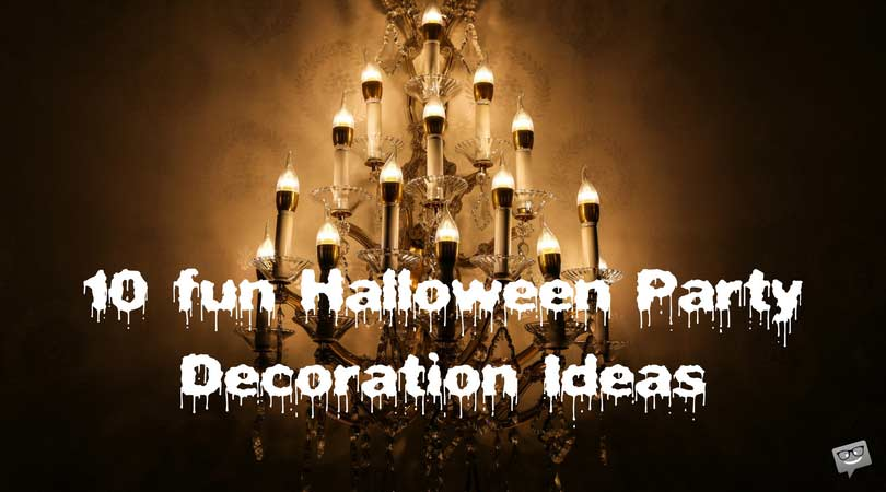 10 Halloween Decoration Ideas to Scare your Day