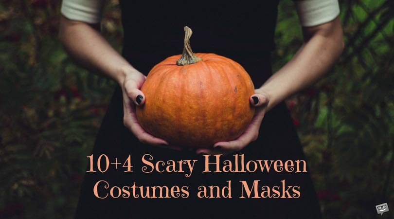 10+4 Scary Halloween Costumes and Masks to Spook Everyone