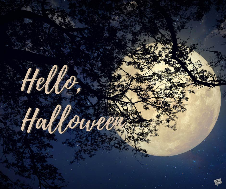Good Morning Wishes for a Scarily Funny Halloween