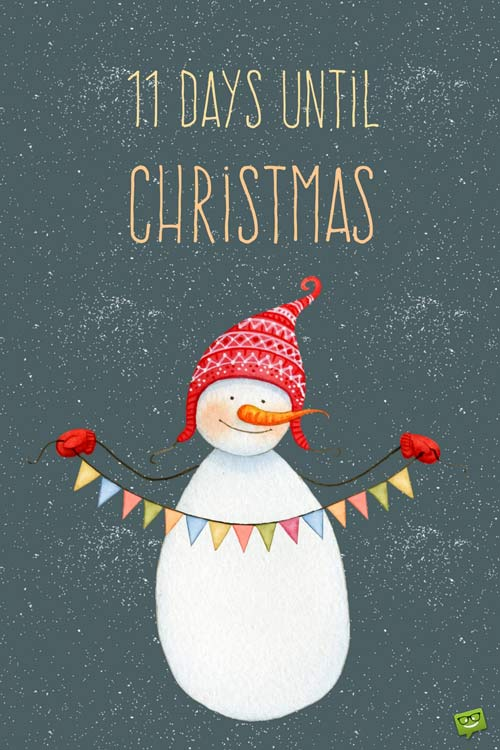 11 days until christmas - How Many Days Before Christmas