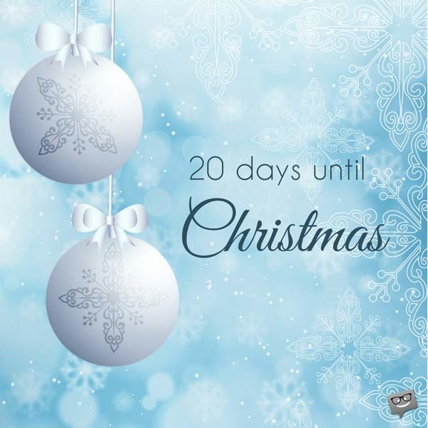 How Many Days Untile Christmas 2020? How Many Days Until December 25th? | A Christmas Countdown   Etandoz