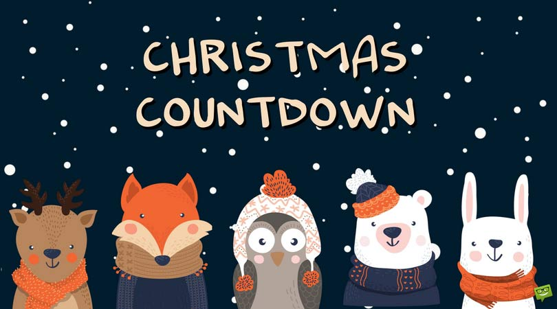 Christmas Count Down.A Christmas Countdown How Long Until December 25th