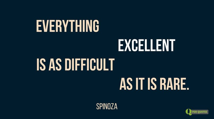 100 Most Inspiring Quotes by Baruch Spinoza