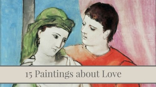 15 paintings about intimate and passionate love.