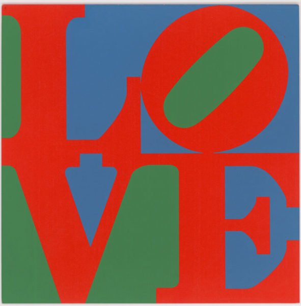 Robert Indiana. Love, 1965