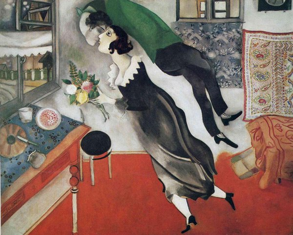 Marc Chagall. Birthday, 1915