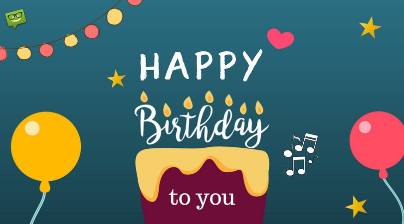Happy Birthday to You   Sing the Song