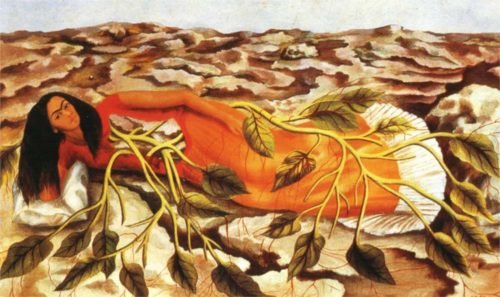 Roots by Frida Khalo
