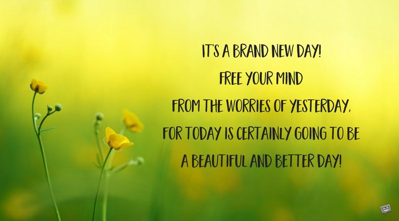 Inspirational Good Morning Messages | Let This Day Begin