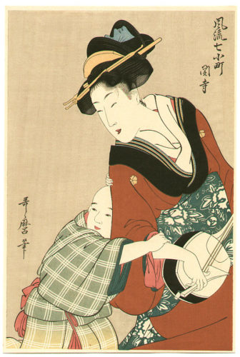 Kitagawa Utamaro, Mother with child