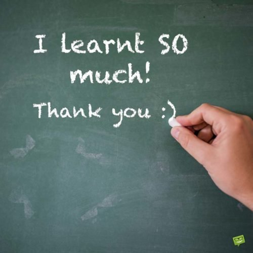 I learnt so much! Thank you :)