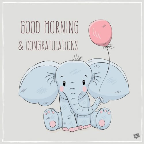 Good Morning and Congratulations.