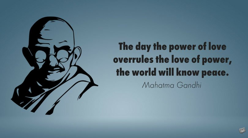 Gandhi Quotes On Peace Adorable 48 Mahatma Gandhi Quotes About Nonviolence Truth And Love