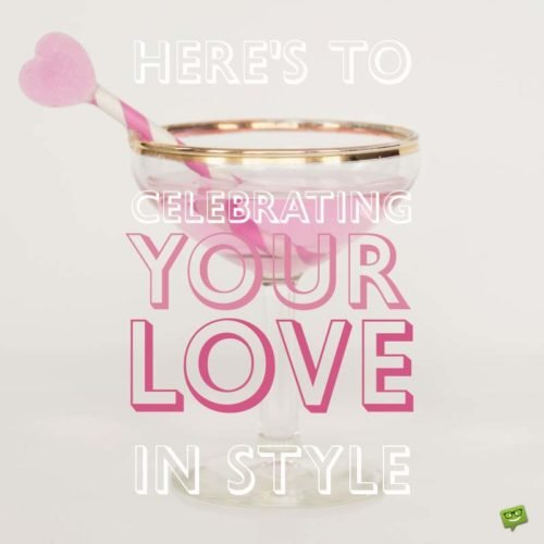 Celebrating Your Love in Style.