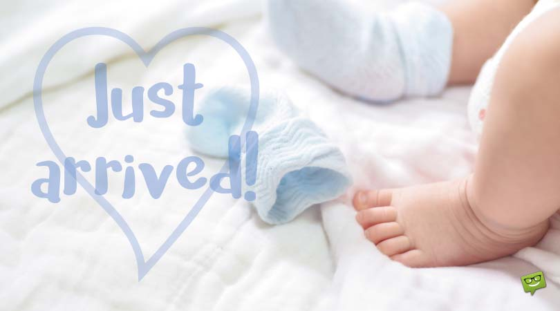 Congratulations for Baby Boy | Newborn Wishes