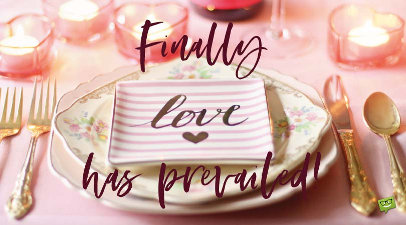 Love Has Prevailed! | Engagement Wishes for Friends