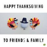 Happy Thanksgiving to friends & family.