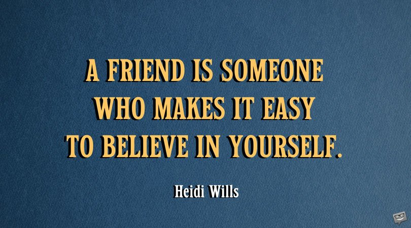True Friends Sayings and Famous Quotes