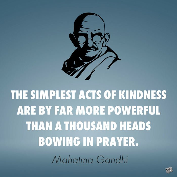 Famous Compassion Quotes Simple Acts Of Kindness