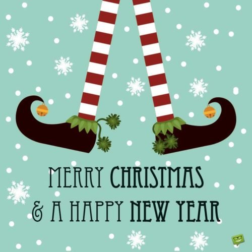 Merry Christmas and a New Year!
