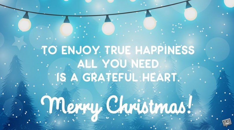 Inspirational Christmas Messages for The Holiday Season