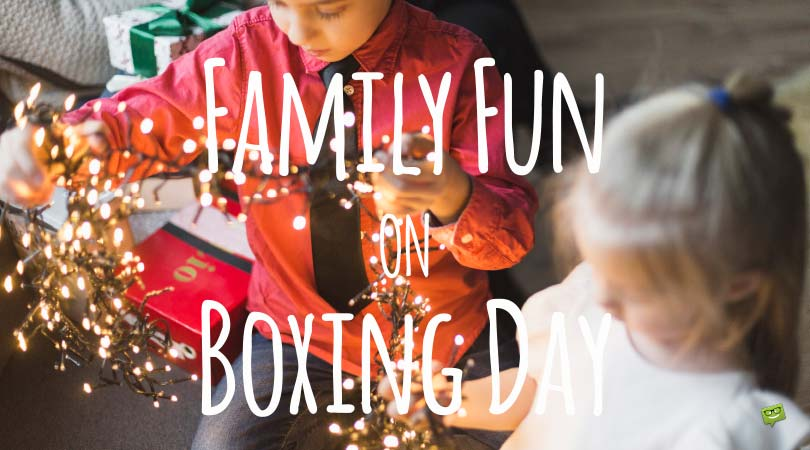 Boxing Day | Famous and Original Quotes