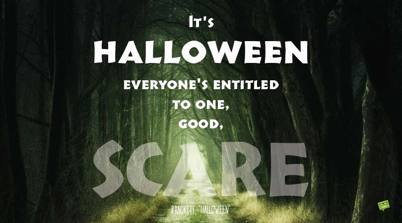 Famous + Original Halloween Quotes