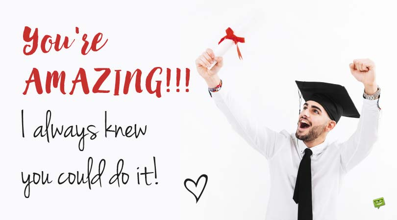Graduation Wishes for my Boyfriend | You Did It!