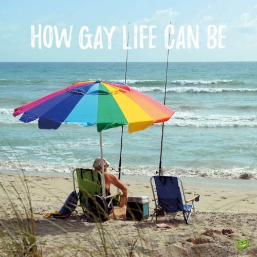 How Gay life can be...