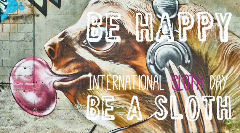 International Sloth Day | Famous Quotes & Fun Facts