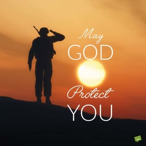 May God protect You.