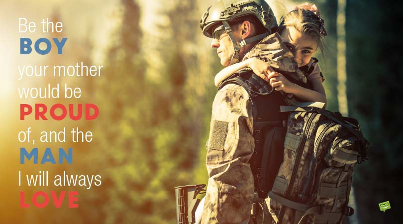 Deployment Wishes | Military Personnel Messages and Notes