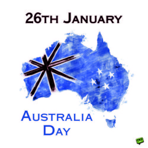 26th January - Australia Day