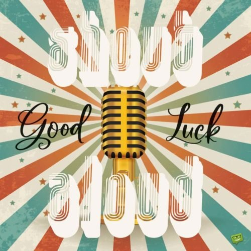 Good Luck | Shout Alooud