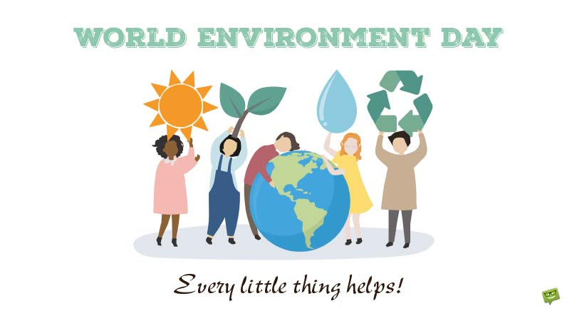 All About our Home | World Environment Day Quotes