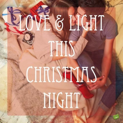 Love and Light this Christmas Night.