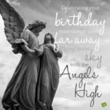 Happy Birthday in Heaven | Birthday Wishes for Someone Who Has Passed Away