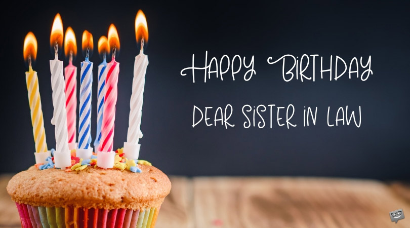 Happy Birthday Sister In Law The Special Day Of My Sis